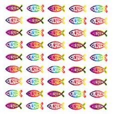 Malé duhové rybičky Jesus (43172)