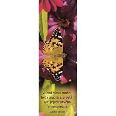 Záložka do knihy - motýl