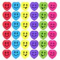 Barevná usměvavá srdíčka (93223)