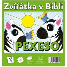 Zvířátka v Bibli - pexeso