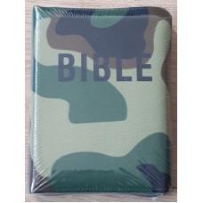 Bible - ekumenický překlad se zipem, maskáčová